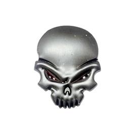 Angry Skull Emblem   Decal   Monogram   Logo - Each-SehgalMotors.Pk