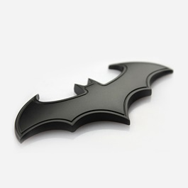 Batman Logo Black with Side Line   Emblem   Decal   Monogram   Logo-SehgalMotors.Pk