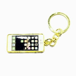 Special Iphone Style Golden Key Chain / Key Ring-SehgalMotors.Pk