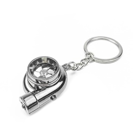 Turbo Key Chain / Key Ring with Sound and LED | Key Chain Ring For Keys | New Fashion Creative Novelty Gift Keychains-SehgalMotors.Pk