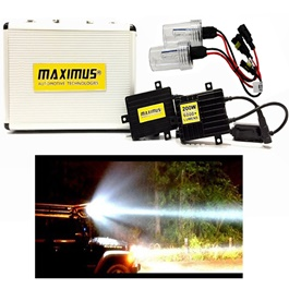 Maximus 200w HID with 6000+ Lumens - H4 For Head Lights | Headlamps | Car Front Light | Car Brightest Light-SehgalMotors.Pk