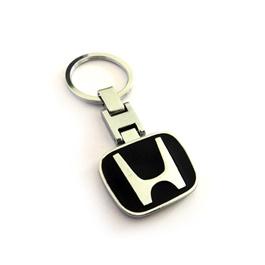 Honda Black Metal Key Chain / Key Ring | Key Chain Ring For Keys | New Fashion Creative Novelty Gift Keychains-SehgalMotors.Pk