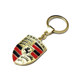 Porsche Metal Key Chain / Key Ring | Key Chain Ring For Keys | New Fashion Creative Novelty Gift Keychains-SehgalMotors.Pk