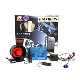 Maximus Car Alarm System - Pencil Shape | Car Alarm Vehicle System Protection Security System Keyless Entry | Water Proof |  Security System-SehgalMotors.Pk