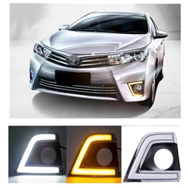 Toyota Corolla Smd Cob Drl Covers - Model 2014-2017-SehgalMotors.Pk