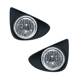 Toyota Vitz DLAA Fog Lamps / Fog Lights - Model 2011-2014 - TY496-SehgalMotors.Pk