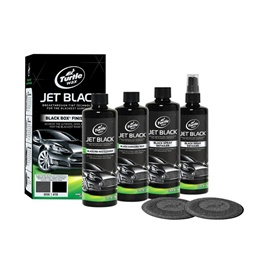 Turtle T3KT Wax Jet Black Box Finish Kit | Car Cleaning Kit | 5 in 1 Product | All Car Wax And Polish Kit | | Solid Car Wax Protection Waterproof | Polish For Car Body | Easy Operation For Caring And Maintenance Clean | Car Polishing Body Solid Waterproof Wax | Car Polish | Car Care Product | Coating Car Wax | Coating Paste | Hydrophobic-SehgalMotors.Pk