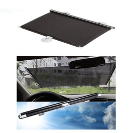 Front Screen Pvc Shade | UV Protection | Easy to Use | Rejects Sunlight | Flexible & Foldable | High Endurance to Heat