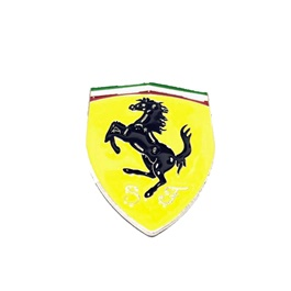 Ferrari Metal Logo   Emblem   Decal   Monogram -SehgalMotors.Pk