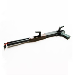 Car Security Anti Theft Gun Shape Steering Lock-SehgalMotors.Pk