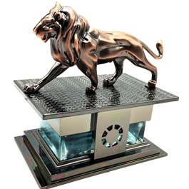 Lion Sculpture Car Dashboard Car Perfume Fragrance | Car Perfume | Fragrance | Air Freshener | Best Car Perfume | Natural Scent | Soft Smell Perfume-SehgalMotors.Pk