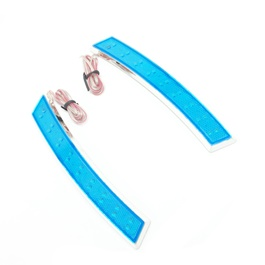 3M Colored Side Marker Fender LED Lamp Blue - Pair | | Side Fender Flash Marker Lamp Indicator | Steering light Fender Side Lamp | Auto Car LED Side Lights Marker Turn Signal Lights-SehgalMotors.Pk