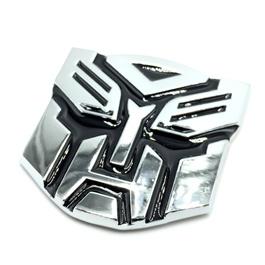 Transformers Metal Monogram Chrome   Emblem   Decal   Monogram   Logo-SehgalMotors.Pk
