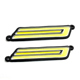 Dual Color Bumper Day Light U Shape | Daytime Running Lights | Car Styling Led Day Light | DRL Lamp-SehgalMotors.Pk