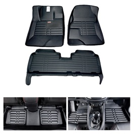 Honda City 5D Custom Floor Mat Black - Model 2015-2017