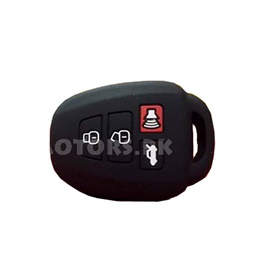 Toyota Corolla PVC / Silicone Protection Key Cover 4 Button - Model 2014-2015