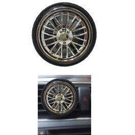 Tire / Tyre Rim AC Grill Car Perfume Fragrance-SehgalMotors.Pk