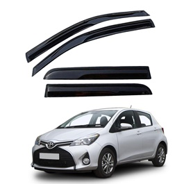 Toyota Vitz Air Press / Sun Visor Without Chrome - Model 2014-2017-SehgalMotors.Pk