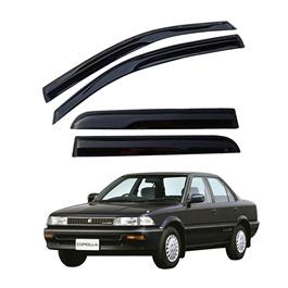 Toyota Corolla Air Press / Sun Visor Without Chrome - Model 1987-1991-SehgalMotors.Pk