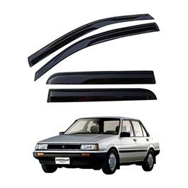 Toyota Corolla Air Press / Sun Visor Without Chrome - Model 1983-1987-SehgalMotors.Pk