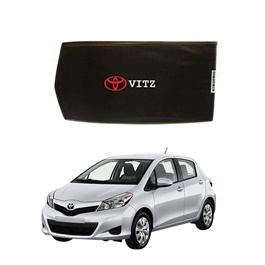 Toyota Vitz Side Sunshade / Sun Shades with Logo - Model 2010-2014-SehgalMotors.Pk