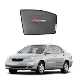 Toyota Corolla Side Sunshade / Sun Shades with Logo - Model 2002-2008-SehgalMotors.Pk