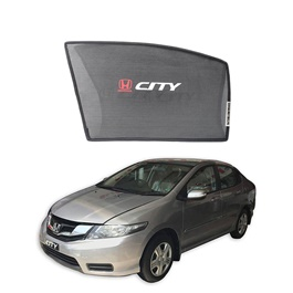 Honda City Side Sunshade / Sun Shades with Logo - Model 2008-2017-SehgalMotors.Pk
