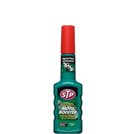 STP Moto Booster For Bike - 200 ML | Cleans Combustion Chambers | Concentrated Cleaning Power Booster | Improves Power And Performance-SehgalMotors.Pk