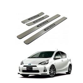 Toyota Aqua Sill Plates / Skuff LED panels - Model 2012-2017-SehgalMotors.Pk