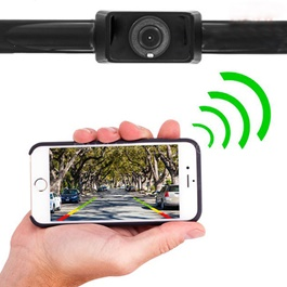 License Plate Backup Camera With WiFi And Smartphone Connectivity-SehgalMotors.Pk