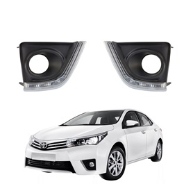 Toyota Corolla Fog Lamps / Fog Lights LED TY662-AL- Model 2014-2017-SehgalMotors.Pk