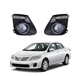 Toyota Corolla LED Fog Lamps / Fog Lights - Model 2012-2014 - TY472-SehgalMotors.Pk