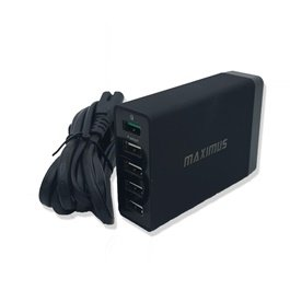 Maximus 5 PowerPort Plus Smart Wall Mobile Charger  -SehgalMotors.Pk