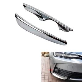Toyota Corolla Front Bumper Fog Lamp Chrome Trim - Model 2017-2020 MA1104-SehgalMotors.Pk