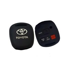 Toyota Corolla PVC / Silicone Protection Key Cover 3 Button - Model 2006-2008-SehgalMotors.Pk