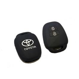 Toyota Corolla PVC / Silicone Protection Key Cover 2 Button-SehgalMotors.Pk