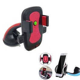 Mouth Mobile Holder Pink | Phone Holder | Mobile Holder | Car Cell Mobile Phone Holder Stand -SehgalMotors.Pk