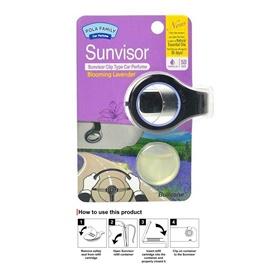 Bullsone Sun Visor Clip Lavender-SehgalMotors.Pk