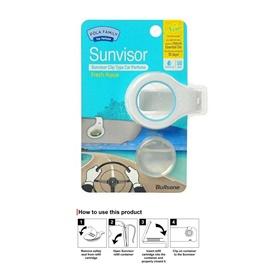 Bullsone Sun Visor Clip Aqua-SehgalMotors.Pk