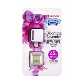 Bullsone Modern Vent Clip Blooming Lavender | Car Air Freshener Outlet Clip Perfume Diffuser | Automobiles Interior Solid Balm | AC Vent Fragrance Clips Accessories Gift | Car Air Freshener AC Outlet Clip-SehgalMotors.Pk