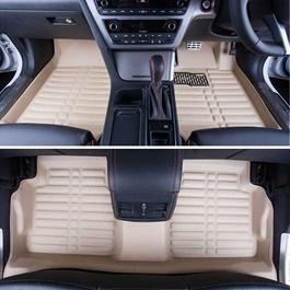 Toyota Prado 5D Floor Mat Beige - Model 2009-2017 | Car Interior Mats For Floor | Car Mats | Vehicle Mats | Foot Mat For Car | Custom Car Floor Mats-SehgalMotors.Pk