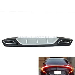 Honda Civic Bumper Diffuser Mercedes Style - Model 2016-2020