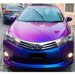 Neon Purple Blue Wrap Per Sq Ft- C8206 | Car Vinyl Wrap Film | Car Wrapping | Vehicle Wrap-SehgalMotors.Pk