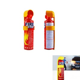 Fire Extinguisher Can Fire Stop - Each | Portable Size Lightweight Household Car Use  Fire Extinguisher | Compact Fire Extinguisher for Laboratories, Hotels, Cars | Fire Extinguisher Safety Flame Fighter Home Office Car |