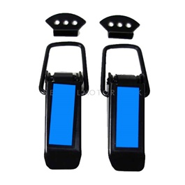 Car Fender Clips Universal - Pair | Car Big Black Boot Bonnet | Side Bumper Toggle Fasteners Catch Clip | To Hold Bumper And Fender -SehgalMotors.Pk