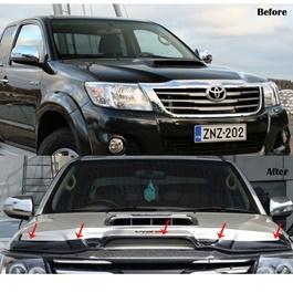Toyota Hilux Vigo Bonnet Guard - Model 2005-2012-SehgalMotors.Pk
