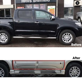 Toyota Hilux Revo Door Body Cladding - Model 2016-2020	-SehgalMotors.Pk