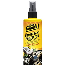 Formula 1 Protectant Coconut Fragrance | Dashboard Cleaner | Car Cleaning Product | Protect Interior | Car Care | For Interior Shining-SehgalMotors.Pk