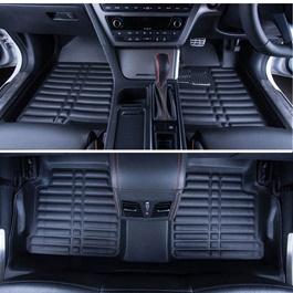 Toyota Prado 5D Floor Mat Black - Model 2009-2017 | Car Interior Mats For Floor | Car Mats | Vehicle Mats | Foot Mat For Car | Custom Car Floor Mats-SehgalMotors.Pk
