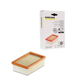 Karcher WD 6	Genuine Flat Pleated Filter | Dust Filter Bag | Vacuum Cleaner Parts Accessories -SehgalMotors.Pk